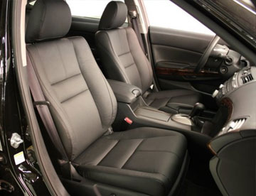 Supreme Sunroofs is the place for factory Katzkins leather interior installation and repair!