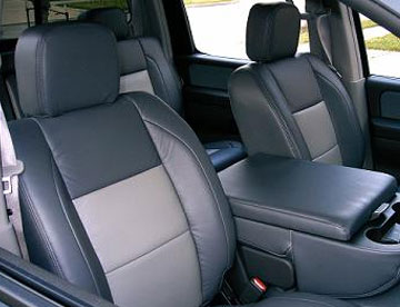Supreme Sunroofs is the place for two-tone Katzkins leather interior installation and repair!